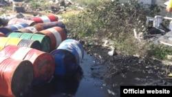 Свалка нефтяных отходов под Севастополем, 24 сентября 2018 год