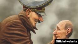 Фрагмент карикатури Андрія Левченка