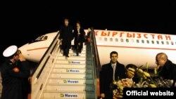 Алмазбек Атамбаев Түркияга иш сапары менен ушул жылдын 13-январында барган