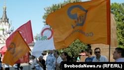 """Митинг """"Стратегии-31"""" в Саратове"""
