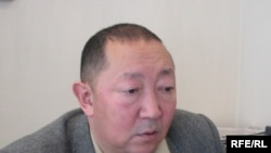 "Kyrgyzstan -- Emil Aliev, Deputy Leader of ""Ar Namys"" (Dignity) Party, undated"