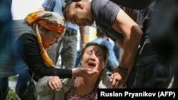 Затримання опозиційної активістки, Алмати, Казахстан, 10 червня 2019 року