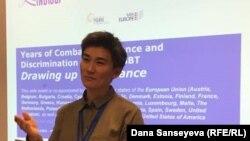 Жанар Секербаева, активистка и соосновательница инициативы «Феминита».