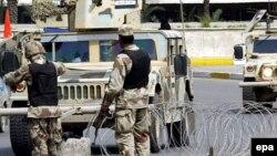 نقطة تفتيش عراقية