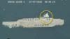 تصویر منتشر شده از حمله به ماکت ناو هواپیمابر در جریان رزمایش سپاه پاسداران در خلیج فارس