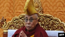 Тибеттің рухани көсемі Далай-лама.