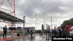 Открытие телерадиовышки в Бахмутовке, Луганская область, 22 августа 2017 год