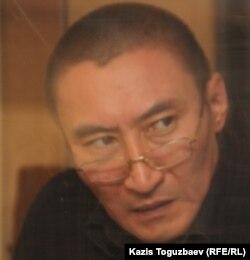Журналистің өліміне қатысты сотталған азамат Шалқар Оразалин. Алматы, 11 қазан 2011 жыл.