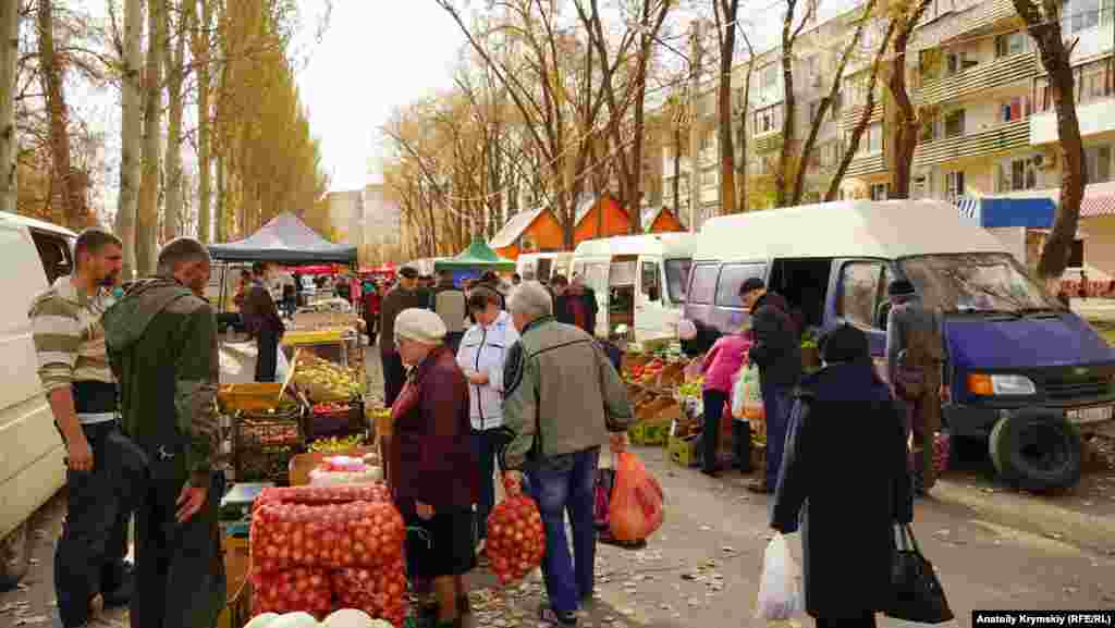 На вулиці Сопіна відкрився сільськогосподарський ярмарок