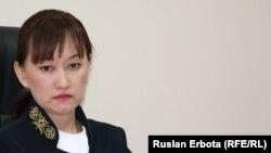 Судья Сарыаркинского районного суда № 2 города Астаны Назгуль Бапакова.