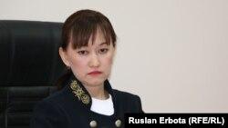 Назгуль Бапакова, судья. Астана, 13 января 2016 года.