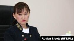 Cудья Назгүл Бапақова. Астана қаласы, 13 қаңтар 2016 жыл.