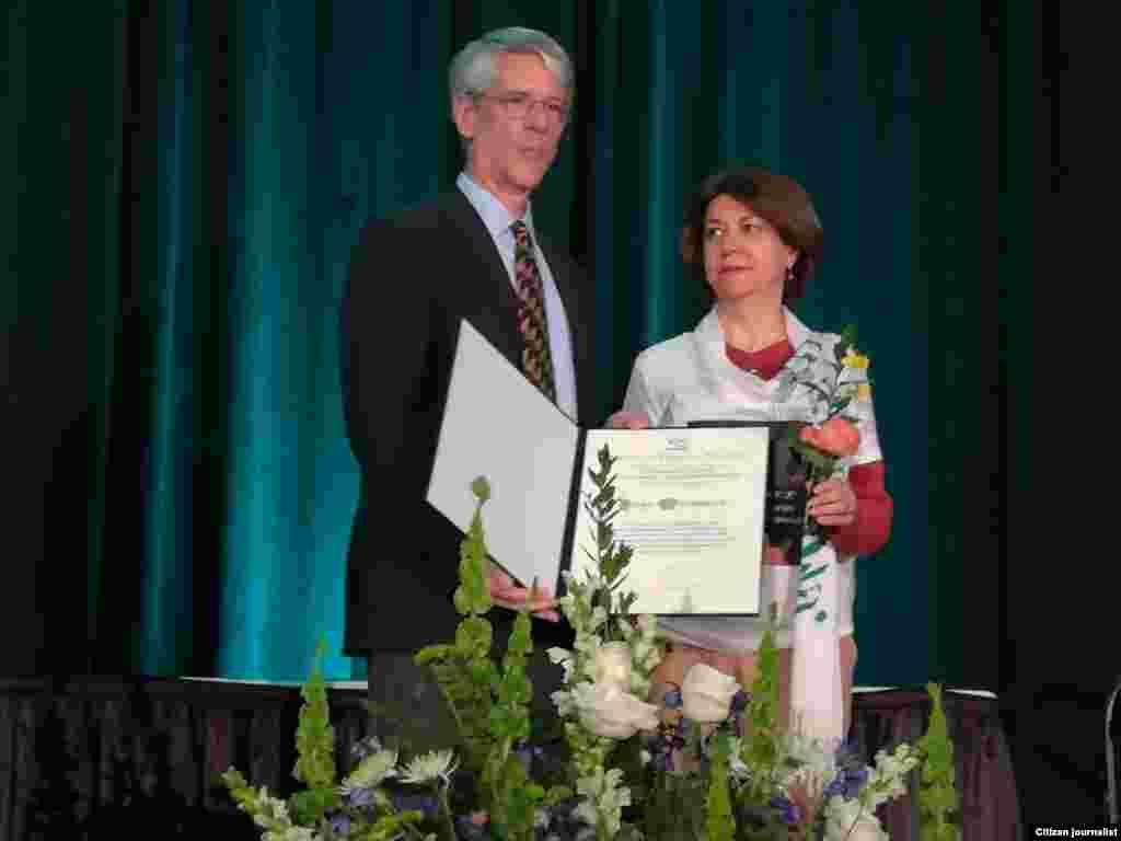 USA--Sakharov award for Narges Mohammadi,Iranian human rights activist