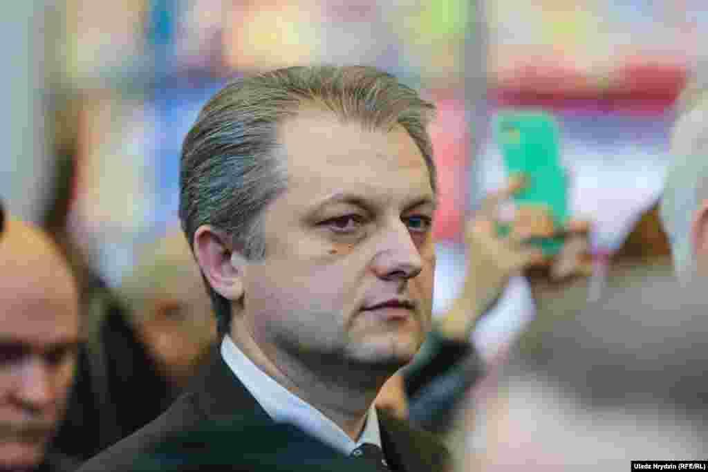Намесьнік міністра інфармацыі Беларусі Ігар Бузоўскі