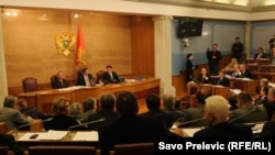Jedna od rasprava u crnogorskoj skupštini - ilustracija