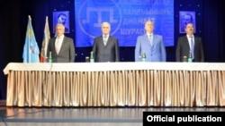 Aqmescitte Qırımtatar halqı cemaat şurasınıñ konferentsiyası