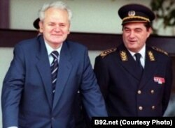 Slobodan Milošević i Nebojša Pavković, foto iz arhive FoNeta