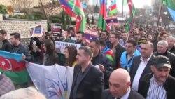 Акція під посольством Азербайджану в Києві