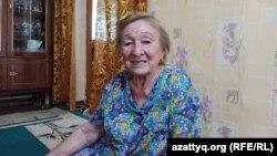 Жымпиты ауылында тұратын Фаруза Нұғманова. 21 маусым 2021 жыл.