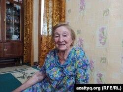 Фаруза Нугманова, жительница Жымпиты