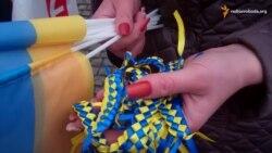 У центрі Дніпропетровська провели флеш-моб зі знання української мови