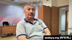 """""""Оразақ"""" ЖШС бұрынғы директоры Қуат Әбілдинов."""