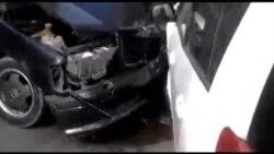 В Токмаке ограблена инкассаторская машина
