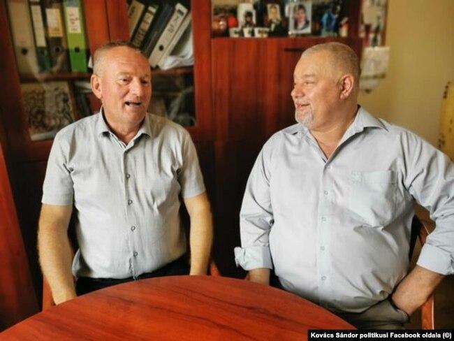 Halmi József (MSZP) és Kovács Sándor (Fidesz)