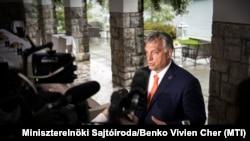 Orbán Viktor a 15. Bledi Stratégiai Fórum nemzetközi konferencián, 2020. augusztus 31-én.