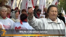Tymoshenko Supporters Protest Her Conviction