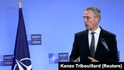 Генералният секретар на НАТО Йенс Столтенберг. Снимката е от 14 април 2021 г.