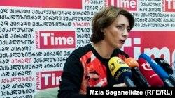 Директор Transparency International Georgia Эка Гигаури заявляет, что в ее адрес стали поступать угрозы