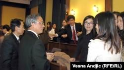 Učitelji kineskog, Beograd, 15.mart 2012.