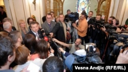 Ivica Dačić nakon skupa