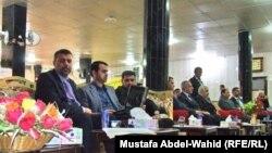 جانب من ندوة في كربلاء حول واقع وآفاق الاستثمار في العراق