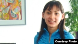 Сотрудница семейского Научно-исследовательского института радиационной медицины и экологии Шолпан Жакыпова.