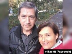 Александр Тимофеев с женой Светланой
