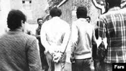 Американцы, взятые в заложники в посольстве США в Иране.