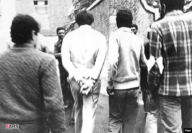 Americans who were held hostage in Iran after the Islamic revolution in 1979 will benefit from the new U.S. spending bill. (file photo)