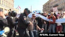 Протесты 1 мая 2019 года в Петербурге