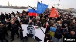Марш пам'яті Бориса Нємцова. Москва, 1 березня 2015 року
