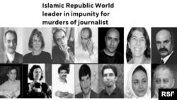 İranda öldürülmüş jurnalistlər, arxiv fotosu
