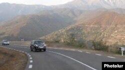 Լեռնային ճանապարհ Հայաստանում, արխիվ