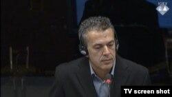 Mladen Blagojević tokom svjedočenja