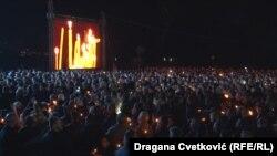تظاهرات در صربیا