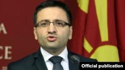 Министерот за одбрана Фатмир Бесими
