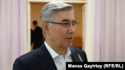 Жалпыұлттық социал-демократиялық партиясының бұрынғы төрағасы Жармахан Тұяқбай. Алматы, 26 сәуір 2019 жыл.