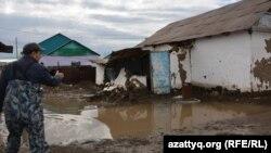 Паводки в Актюбинской области