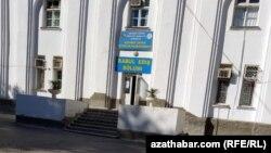 Приемное отделение больницы. Ашхабад, октябрь, 2020