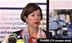 Christine Mügge, parchetul Chemnitz (Foto: TV/ARD)